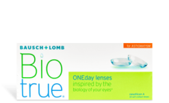 BIOTRUE ONE DAY FOR ASTIGMATISM 30PK