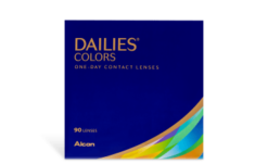 DAILIES COLORS 90PK
